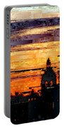 Cartagena Colombia Night Skyline Portable Battery Charger
