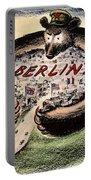 Cartoon: Cold War Berlin Portable Battery Charger