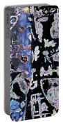 Carved Birch Trees Portable Battery Charger