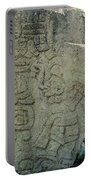 Carved Danzantes Stone Portable Battery Charger