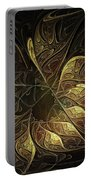 Carved In Gold Portable Battery Charger