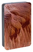 Carved Wave. Portable Battery Charger