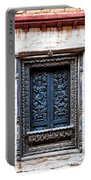 Carved Window Shutters Portable Battery Charger