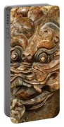 Carvings In Jade - 3 - A Dragon's Face  Portable Battery Charger