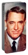Cary Grant By John Springfield Portable Battery Charger