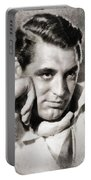 Cary Grant, Hollywood Legend By John Springfield Portable Battery Charger