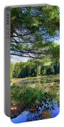 Cary Lake In August Portable Battery Charger