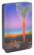 Casapaz  Palm At Dawn Portable Battery Charger