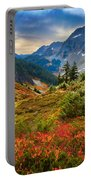 Cascade Pass Fall Portable Battery Charger by Inge Johnsson
