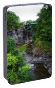 Cascadilla Gorge Cornell University Ithaca New York 01 Portable Battery Charger