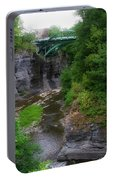 Cascadilla Gorge Cornell University Ithaca New York 02 Portable Battery Charger