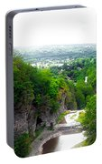 Cascadilla Gorge Cornell University Ithaca New York Panorama Portable Battery Charger