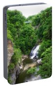 Cascadilla Waterfalls Cornell University Ithaca New York 01 Portable Battery Charger
