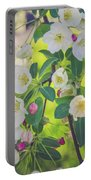 Cascading Flowers Portable Battery Charger