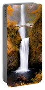 Cascading Gold Waterfall II Portable Battery Charger