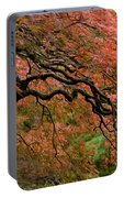 Cascading Japanese Maple Portable Battery Charger