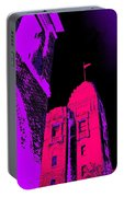 Casino Building, In Fuschia Portable Battery Charger