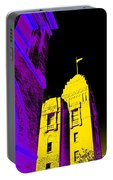 Casino Building In Yellow Portable Battery Charger