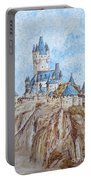 Castle On The River Rhine Portable Battery Charger