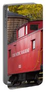 Cass Railroad Caboose Portable Battery Charger