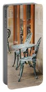 Cast Iron Garden Furniture Portable Battery Charger