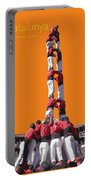 Castellers De Catalunya Portable Battery Charger