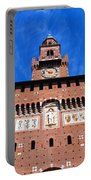 Castello Sforzesco Tower Portable Battery Charger