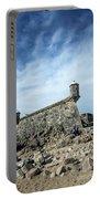 Castelo Do Queijo Old Fort Landmark In Porto Portugal Portable Battery Charger