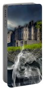 Castle In The Sky Art Portable Battery Charger
