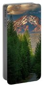 Castle Lake Road View Portable Battery Charger by John Hight