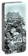 Castle Ruin Flossenbuerg Portable Battery Charger