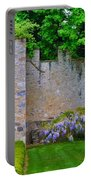 Castle Wall At The Highlands Portable Battery Charger