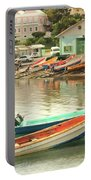 Castries Harbor Waterfront Portable Battery Charger