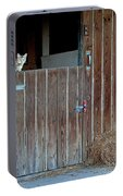 Cat And Barn Portable Battery Charger