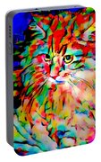 Cat By Fauvism Portable Battery Charger