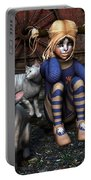 Cat Girl Portable Battery Charger