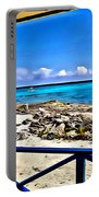 Cat Island House Portable Battery Charger