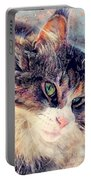 Cat Jasper Portable Battery Charger