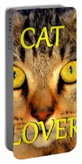 Cat Lover Spca Portable Battery Charger