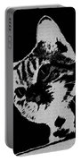 Cat On A Hot Tin Roof Portable Battery Charger
