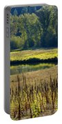 Cat Tails In The Sun Portable Battery Charger