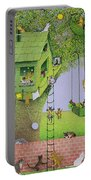 Cat Tree House Portable Battery Charger