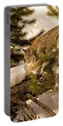 Cat Walk Portable Battery Charger by Priscilla Burgers