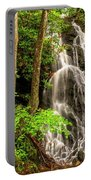 Cataract Falls In Great Smoky Mountains National Park Portable Battery Charger