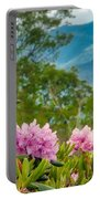 Catawba Rhododendron At The Craggy Portable Battery Charger
