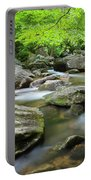 Catawba River In Summer Portable Battery Charger