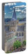 Cathedral Closeup Portable Battery Charger