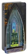 Cathedral Columns Of The St. Johns Bridge Portable Battery Charger