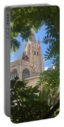 Cathedral In Brugge Portable Battery Charger