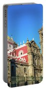 Cathedral In Puebla, Mexico Portable Battery Charger